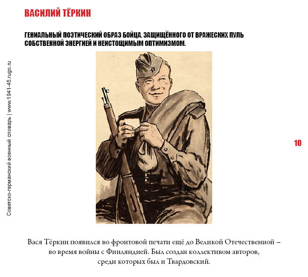 Василий теркин цитаты к образу теркина